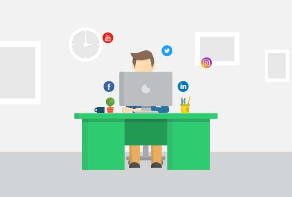 Social Suite Character Motion Graphic